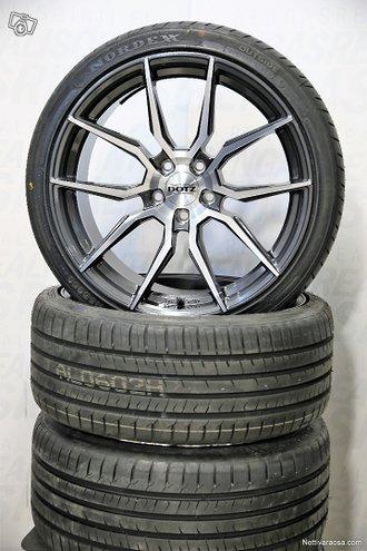 "17"" Kesärenkaat Audi Mersu Skoda Vw Seat"