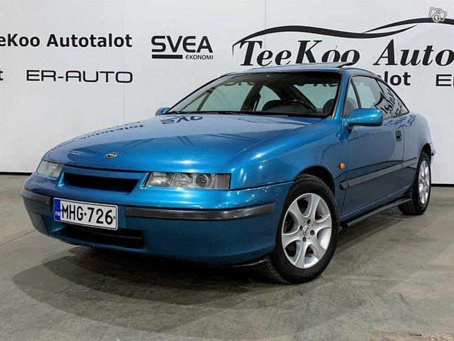 Opel Calibra - ER-Auto Oy, Autot,