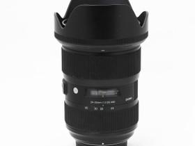 Käytetty Sigma NAF 24-35mm f/2 A DG HSM, Objektiivit, Kamerat ja valokuvaus, Turku, Tori.fi