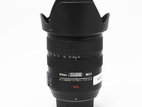 Käytetty Nikkor AF-S 24-120mm f/3.5-5.6G VR IF-ED, Objektiivit, Kamerat ja valokuvaus, Turku, Tori.fi