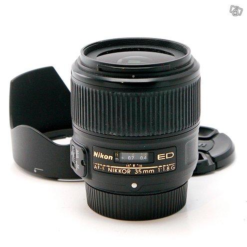 Käytetty Nikkor AF-S 35mm f/1.8G ED