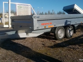 Respo 2000P312T150 2-akselinen lavetti, Peräkärryt ja trailerit, Auton varaosat ja tarvikkeet, Tuusula, Tori.fi