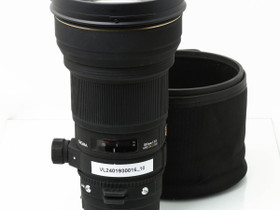 Käytetty Sigma EOS 300mm f/2.8 EX APO DG HSM, Objektiivit, Kamerat ja valokuvaus, Turku, Tori.fi