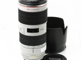 Käytetty Canon EF 70-200mm f/2.8 L IS USM II, Objektiivit, Kamerat ja valokuvaus, Turku, Tori.fi