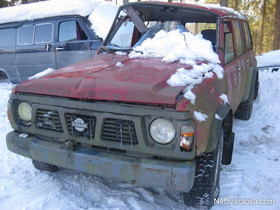 Nissan Patrol GR 4x4 2,8TD, Autovaraosat, Auton varaosat ja tarvikkeet, Jämijärvi, Tori.fi