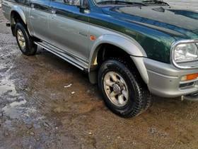 Mitsubishi L200 2,5TD 4X4 -99 Mitsubishi L200 2,5T, Autovaraosat, Auton varaosat ja tarvikkeet, Jämijärvi, Tori.fi