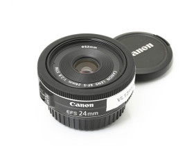 Käytetty Canon EF-S 24mm f/2.8 STM, Objektiivit, Kamerat ja valokuvaus, Turku, Tori.fi