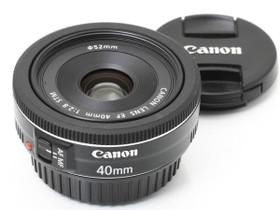 Käytetty Canon EF 40mm f/2.8 STM, Objektiivit, Kamerat ja valokuvaus, Turku, Tori.fi