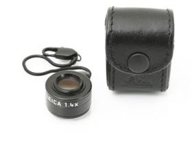 Käytetty Leica viewfinder magnifier M 1.4x, Kamerat, Kamerat ja valokuvaus, Turku, Tori.fi