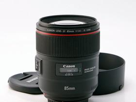 Käytetty Canon EF 85mm f/1.4L IS USM, Objektiivit, Kamerat ja valokuvaus, Helsinki, Tori.fi
