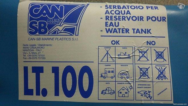 Can sb vesisäiliö 100 litraa