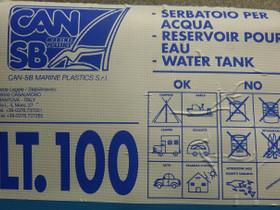 Can sb vesisäiliö 100 litraa, Veneen varusteet ja varaosat, Venetarvikkeet ja veneily, Hämeenlinna, Tori.fi