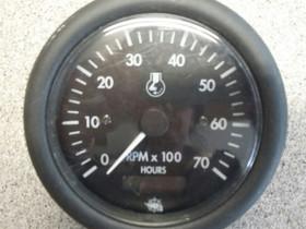 Osculati 12v rpm + hours kierroslukumittari + tunn, Veneen varusteet ja varaosat, Venetarvikkeet ja veneily, Hämeenlinna, Tori.fi