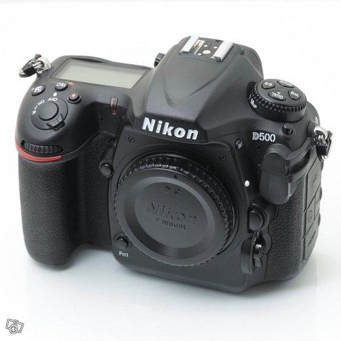 Käytetty Nikon D500