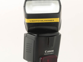 Käytetty CANON SPEEDLITE 430EX II, Kamerat, Kamerat ja valokuvaus, Turku, Tori.fi