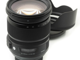 Käytetty Sigma 24-105mm f/4 A DG OS HSM (Nikon), Objektiivit, Kamerat ja valokuvaus, Turku, Tori.fi