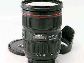 Käytetty Canon EF 24-70mm f/2.8 L II USM, Objektiivit, Kamerat ja valokuvaus, Helsinki, Tori.fi