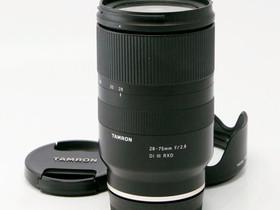 Käytetty Tamron 28-75mm f/2.8 Di III RXD Sony FE, Objektiivit, Kamerat ja valokuvaus, Helsinki, Tori.fi