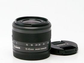 Käytetty Canon EF-M 15-45mm f/3.5-6.3 IS STM musta, Objektiivit, Kamerat ja valokuvaus, Helsinki, Tori.fi