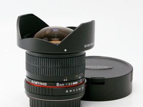 Käytetty SAMYANG 8mm f/3.5 CS (CANON), Objektiivit, Kamerat ja valokuvaus, Helsinki, Tori.fi