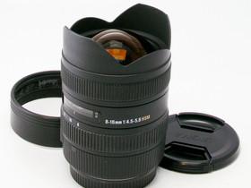 Käytetty Sigma EOS 8-16mm f/4.5-5.6 DC HSM, Objektiivit, Kamerat ja valokuvaus, Helsinki, Tori.fi