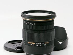 Käytetty Sigma 17-50mm f/2.8 EX DC OS HSM Canon, Objektiivit, Kamerat ja valokuvaus, Helsinki, Tori.fi