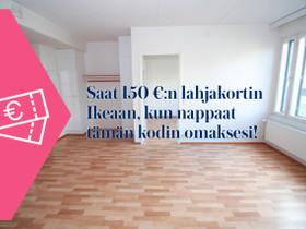2H+KK+S, Jontikka 4, Lutakko, Jyväskylä, Vuokrattavat asunnot, Asunnot, Jyväskylä, Tori.fi
