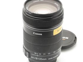 Käytetty Canon EF-S 18-135mm f/3.5-5.6 IS, Objektiivit, Kamerat ja valokuvaus, Turku, Tori.fi