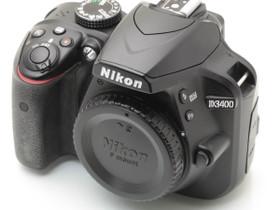 Käytetty Nikon D3400, Kamerat, Kamerat ja valokuvaus, Turku, Tori.fi