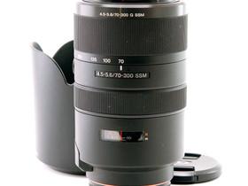 Käytetty Sony SAL 70-300mm f/4.5-5.6G SSM, Objektiivit, Kamerat ja valokuvaus, Helsinki, Tori.fi