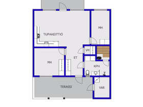 3H, 63m², Kiviristintie, Lapua, Vuokrattavat asunnot, Asunnot, Lapua, Tori.fi