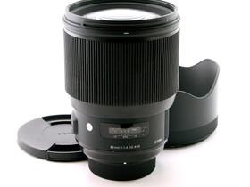 Käytetty Sigma 85mm f/1.4 Art DG HSM Nikon, Objektiivit, Kamerat ja valokuvaus, Helsinki, Tori.fi