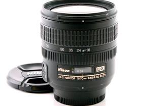 Käytetty Nikkor AF-S DX 18-70mm f/3.5-4.5G ED, Objektiivit, Kamerat ja valokuvaus, Helsinki, Tori.fi