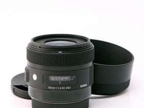 Käytetty Sigma EOS 30mm f/1.4 ART DC HSM, Objektiivit, Kamerat ja valokuvaus, Helsinki, Tori.fi