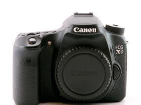 Käytetty Canon EOS 70D, Kamerat, Kamerat ja valokuvaus, Helsinki, Tori.fi