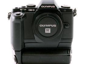 Käytetty Olympus OM-D E-M5 + HLD-6, Kamerat, Kamerat ja valokuvaus, Helsinki, Tori.fi