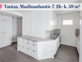 2H+K, Maalinauhantie 7, Länsimäki, Vantaa, Vuokrattavat asunnot, Asunnot, Vantaa, Tori.fi