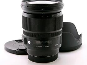 Käytetty Sigma 24-105mm f/4 A DG OS HSM Canon, Objektiivit, Kamerat ja valokuvaus, Tampere, Tori.fi