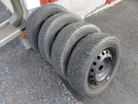 185 60 R 15 88T Vanhat nastarenkaat Toyotan pelti, Renkaat ja vanteet, Pori, Tori.fi