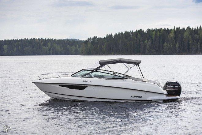 Flipper 650DC + MERCURY F150