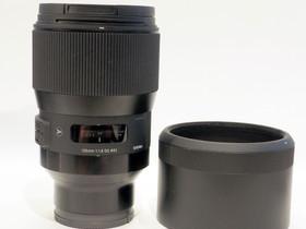 Käytetty Sigma 135mm f/1.8 Art DG HSM -objektiivi,, Objektiivit, Kamerat ja valokuvaus, Tampere, Tori.fi