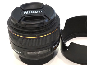 Käytetty Sigma NAF 30mm f/1.4 EX DC HSM -objektiiv, Objektiivit, Kamerat ja valokuvaus, Tampere, Tori.fi