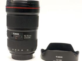 Käytetty Canon EF 16-35mm f/2.8 L III USM -objekti, Objektiivit, Kamerat ja valokuvaus, Tampere, Tori.fi