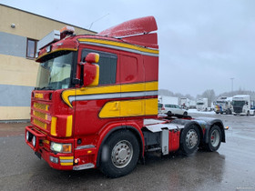 Scania R124 6x2+RETARDER, Kuljetuskalusto, Työkoneet ja kalusto, Helsinki, Tori.fi
