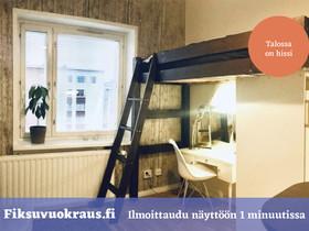 Pori Keskusta Varvinkatu 15 1h + kk, Vuokrattavat asunnot, Asunnot, Pori, Tori.fi