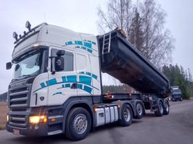 Scania R500 6x2 + 2 aks. kippikärryä, Maatalouskoneet, Työkoneet ja kalusto, Forssa, Tori.fi