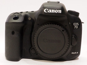 Käytetty Canon EOS 7D Mark II -järjestelmäkamera, Kamerat, Kamerat ja valokuvaus, Tampere, Tori.fi