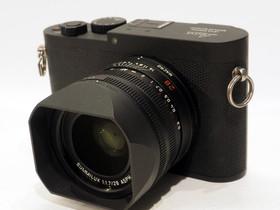 Käytetty Leica Q-P (TYP 116) -kompaktikamera, must, Kamerat, Kamerat ja valokuvaus, Tampere, Tori.fi