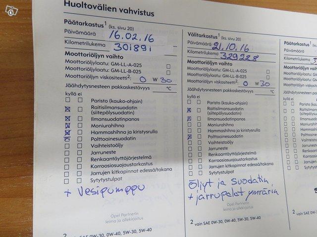 Opel Zafira 14