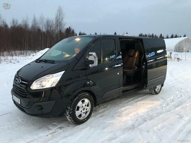 Ford Tourneo Custom 2.0tdic 170hv AUT 2017 9hengen